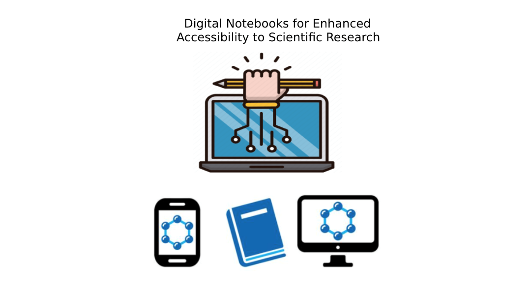Digital Notebooks for Enhanced Accessibility to Scientific Research